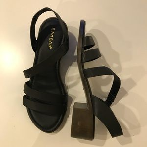 BAMBOO Shoes - Spring Block Heel Size 7